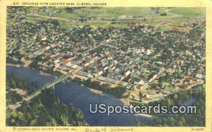 Albany, OR Postcard       ;       Albany, Oregon