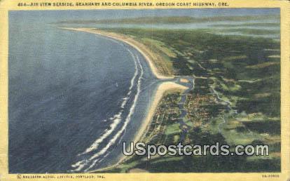 Seaside, Gearhart & Columbia River - Oregon Coast Highway Postcards, Oregon OR Postcard