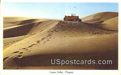 Dune Rides - Misc, Oregon OR Postcard