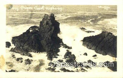 Real Photo  - Oregon Coast Highway Postcards, Oregon OR Postcard