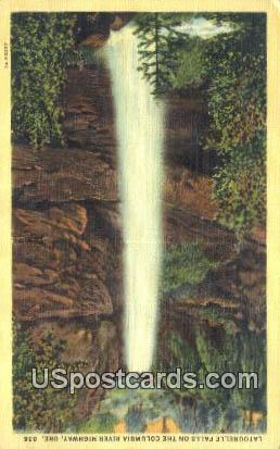 Latourelle Falls - Columbia River Highway, Oregon OR Postcard