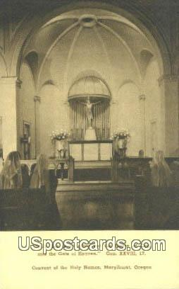 Convent of the Holy Names - Maryhurst, Oregon OR Postcard