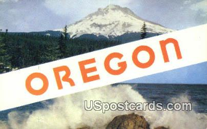 Misc, Oregon Postcard       ;       Misc, OR