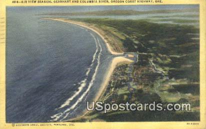 Gearhart & Columbia River - Oregon Coast Highway Postcards, Oregon OR Postcard