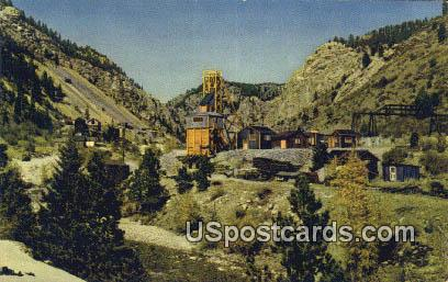 Gold Mining - Misc, Oregon OR Postcard