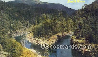 Forks of Smith River - Grants Pass, Oregon OR Postcard