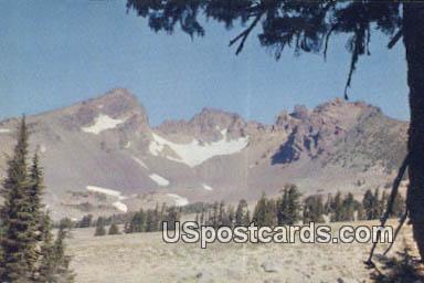 Broken Top Crater - Central Oregon Postcards, Oregon OR Postcard