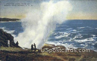 Spouting Horn, Depoe Bay - Oregon Coast Highway Postcards, Oregon OR Postcard