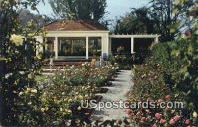 Lambert Gardens - Portland, Oregon OR Postcard