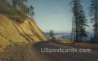 Oregon Coast Highway, Oregon Postcard       ;       Oregon Coast Highway, OR - Oregon Coast Highway Postcards