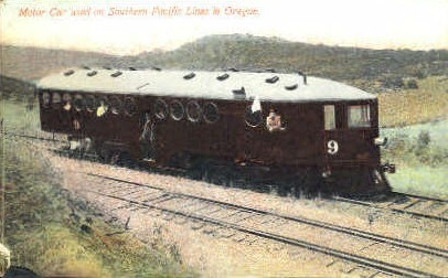 Southern Pacific Lines - Misc, Oregon OR Postcard