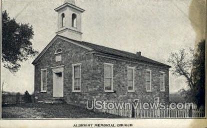 Albright Memorial Church - Misc, Pennsylvania PA Postcard