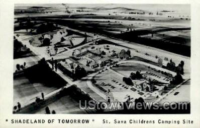 St. Sava Children's Camping - Albion, Pennsylvania PA Postcard
