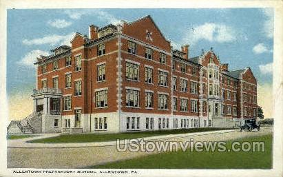 Allentown Preparatory School - Pennsylvania PA Postcard