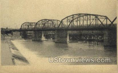 Lehigh Bridge - Allentown, Pennsylvania PA Postcard