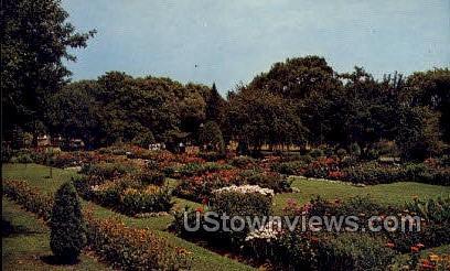 Old-Fashioned Gardens - Allentown, Pennsylvania PA Postcard