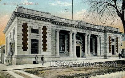 Post Office, Allentown - Pennsylvania PA Postcard