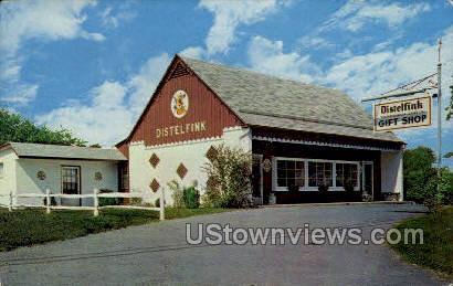 Distelfink Gift Shop - Allentown, Pennsylvania PA Postcard