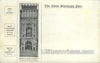 The Great Allentown Fair - Pennsylvania PA Postcard