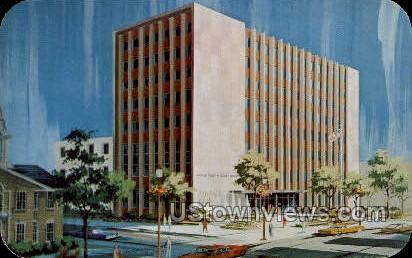 Lehigh County Court House - Allentown, Pennsylvania PA Postcard