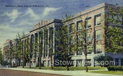 Allentown High School - Pennsylvania PA Postcard