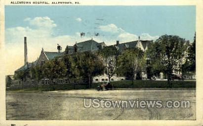 Allentown Hospital - Pennsylvania PA Postcard