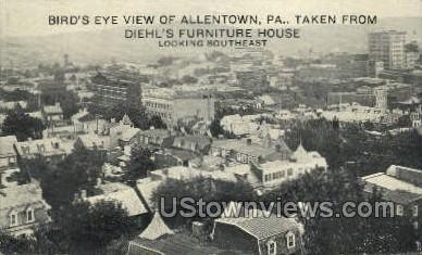 Diehl's Furniture House - Allentown, Pennsylvania PA Postcard