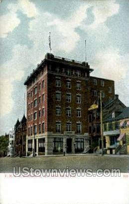 YMCA Bldg - Allentown, Pennsylvania PA Postcard