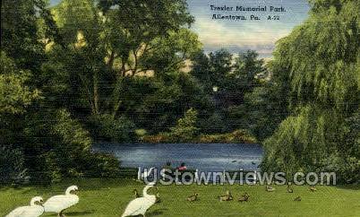 Trexler Memorial Park - Allentown, Pennsylvania PA Postcard