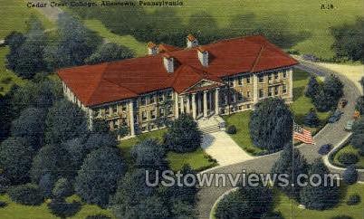 Cedar Crest College - Allentown, Pennsylvania PA Postcard