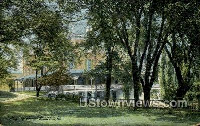 College for Women, Allentown - Pennsylvania PA Postcard