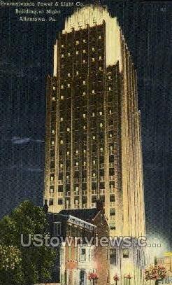 Power & Light Co. - Allentown, Pennsylvania PA Postcard