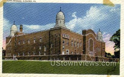 Jaffa Mosque - Altoona, Pennsylvania PA Postcard