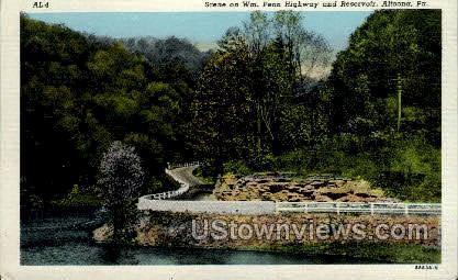 Penn Highway - Altoona, Pennsylvania PA Postcard