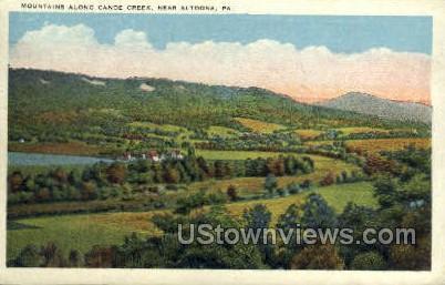 Canoe Creek - Altoona, Pennsylvania PA Postcard