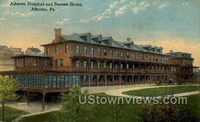 Altoona Hospital - Pennsylvania PA Postcard
