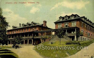 Altoona City Hospital - Pennsylvania PA Postcard