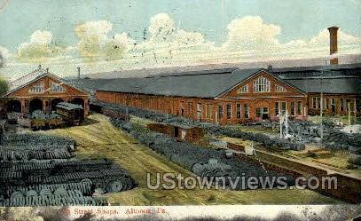 4th Street Shops - Altoona, Pennsylvania PA Postcard