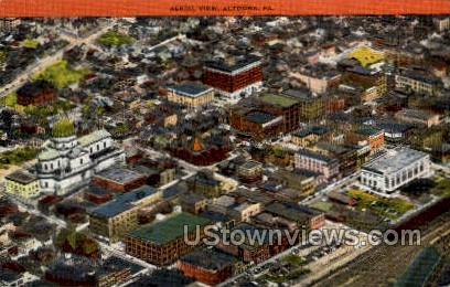 Altoona, Pennsylvania, PA, Postcard