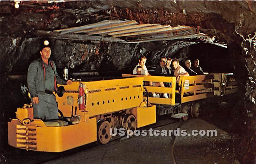 Anthracite Coal Region - Ashland, Pennsylvania PA Postcard
