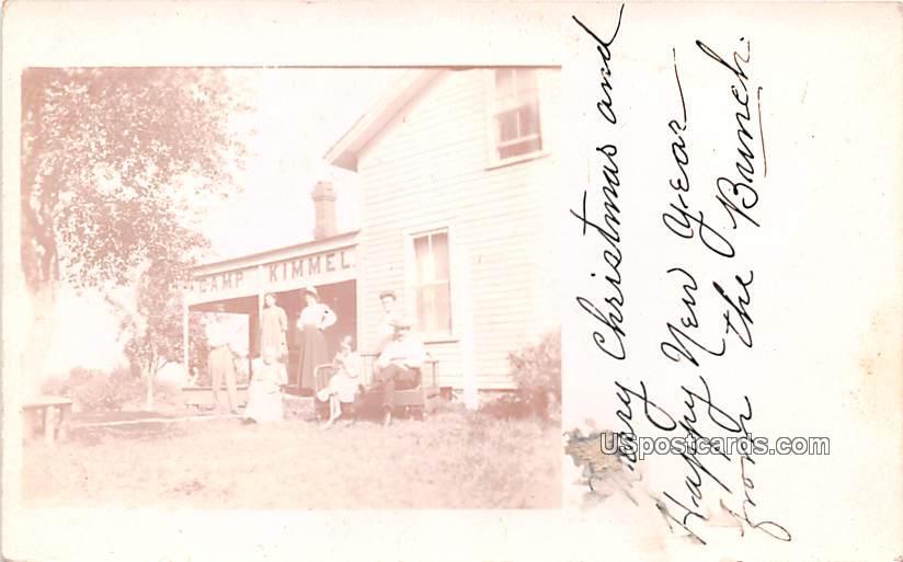 Camp Kimmel - Albion, Pennsylvania PA Postcard