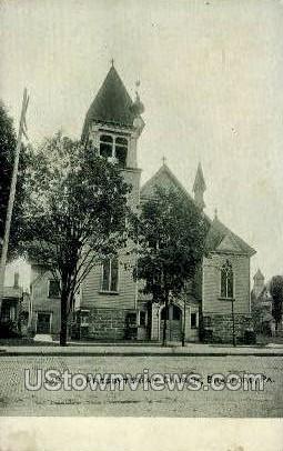Presbyterian Church, Bradford - Pennsylvania PA Postcard