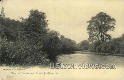 Tuneangqon Creek - Bradford, Pennsylvania PA Postcard