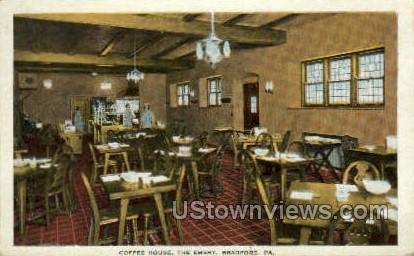 Coffee House, The Emery - Bradford, Pennsylvania PA Postcard