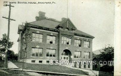 5th Ward School House - Bradford, Pennsylvania PA Postcard