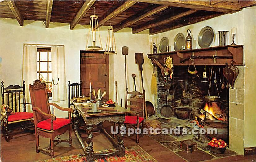 Council Room Thompson Neely House - Bucks County, Pennsylvania PA Postcard