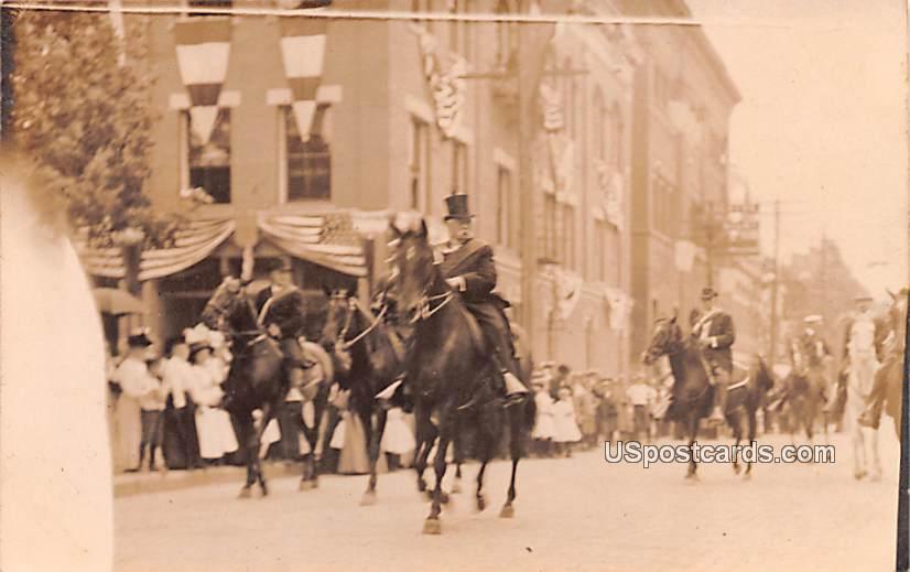 Parade - Bradford, Pennsylvania PA Postcard