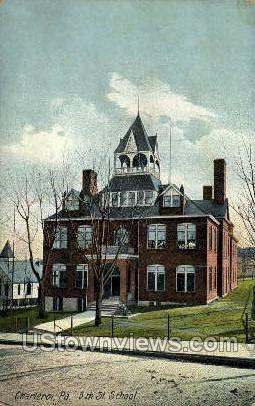 5th St. School - Charleroi, Pennsylvania PA Postcard