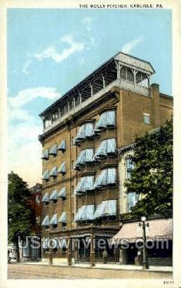 The Molly Pitcher - Carlisle, Pennsylvania PA Postcard