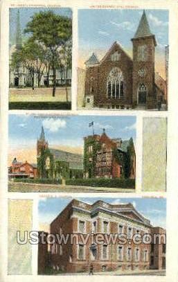 St. John's Episcopal Church - Carlisle, Pennsylvania PA Postcard